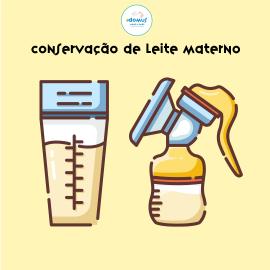 conservação de leite materno